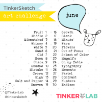 TinkerSketch: The June Art Challenge