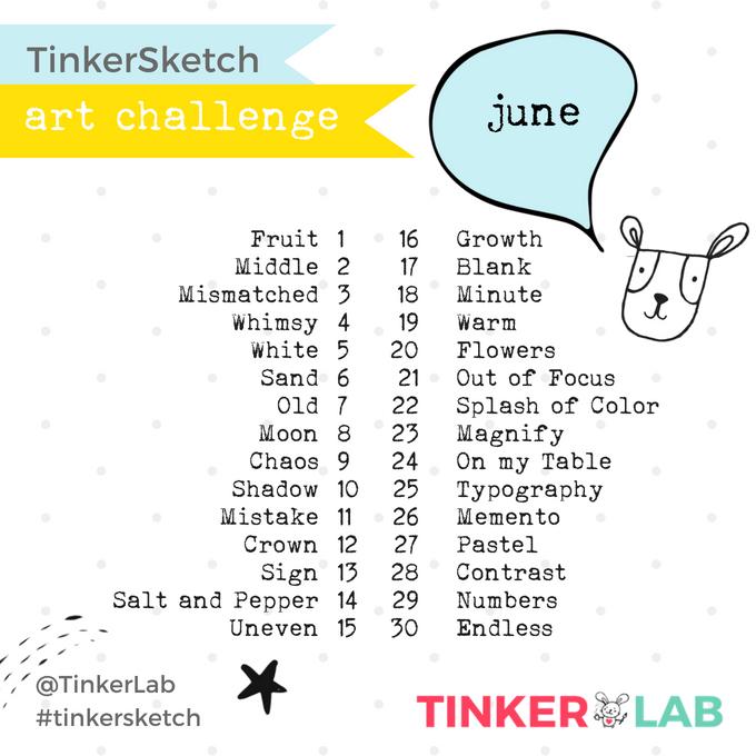 June art challenge tinkerlab