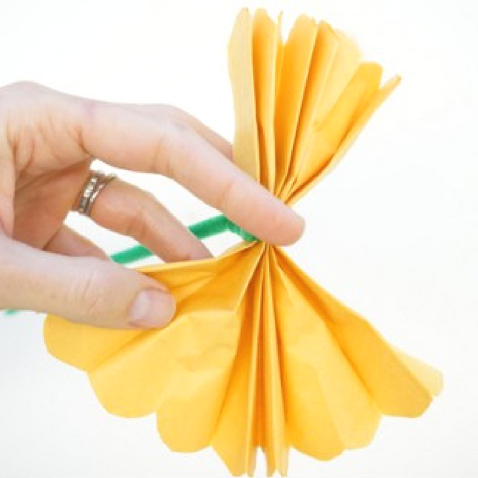 How to make tissue paper flowers tinkerlab how to make tissue paper flowers pipe cleaner mightylinksfo Gallery