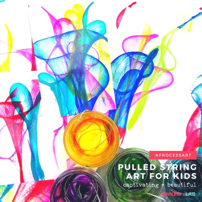 captivating pulled string art for kids