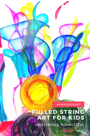 How To Make Captivating Pulled String Art Tinkerlab