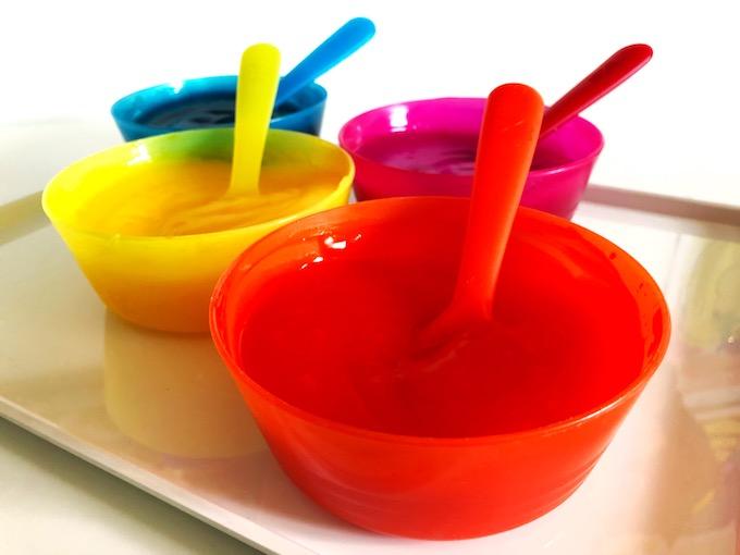 make edible paint