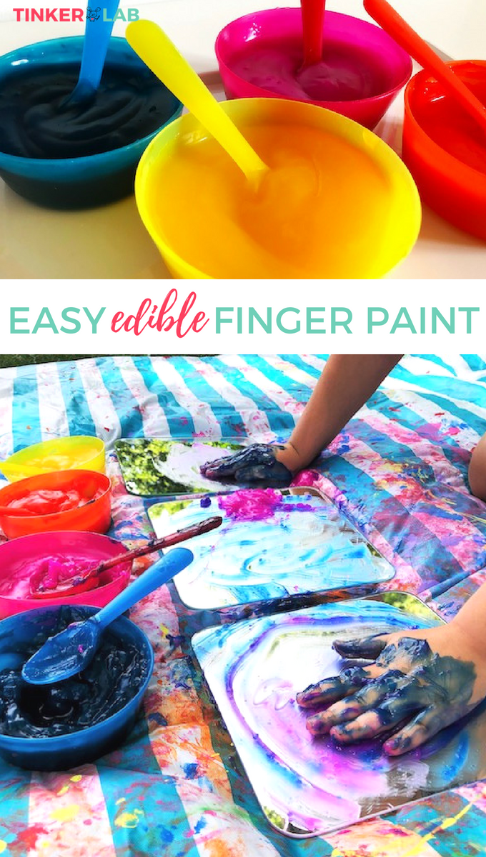 easy edible finger paint