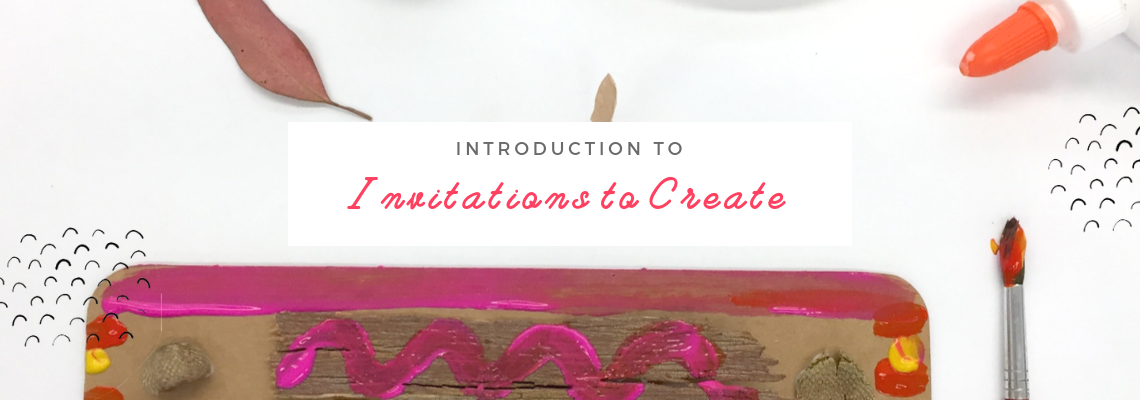 Invitations to Create for Kids