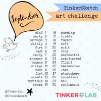 September Art Challenge