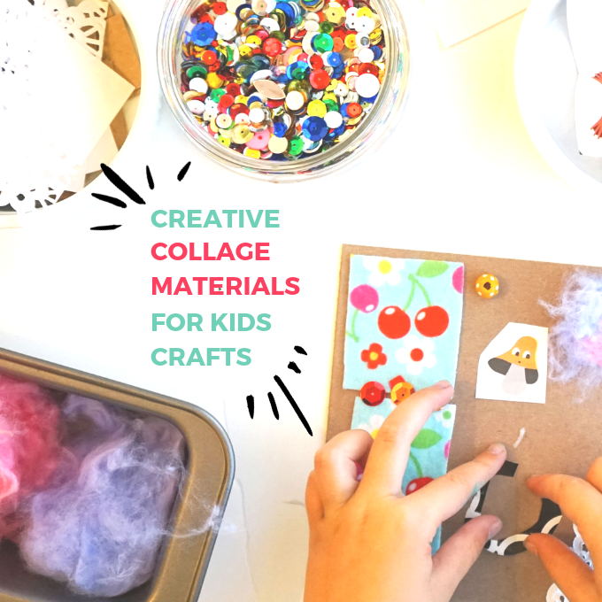 Creative Collage Materials For Kids Crafts Tinkerlab