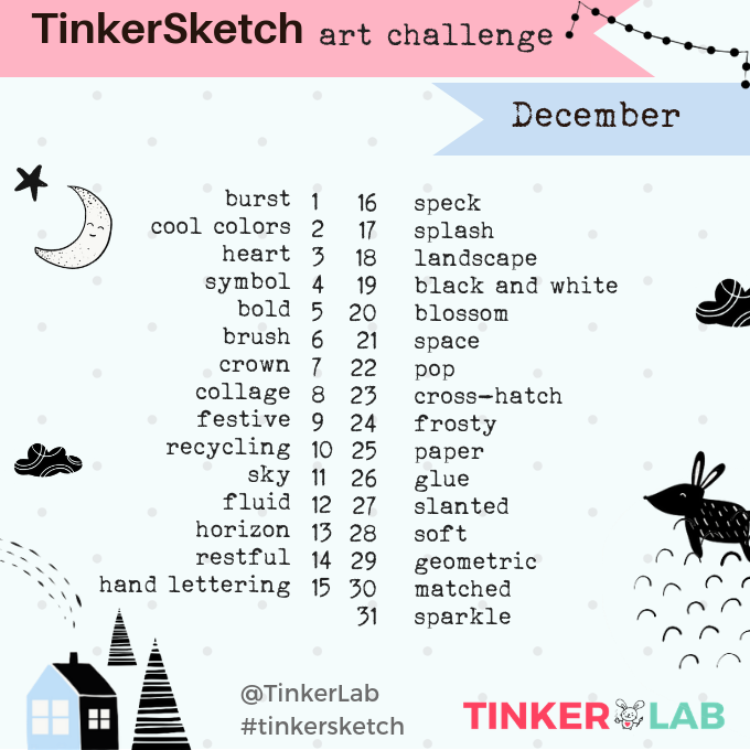 December Art Challenge