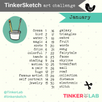 January art challenge