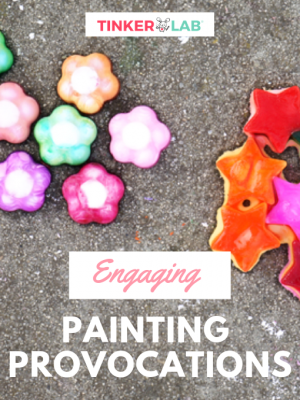 Engaging Painting Provocations for Kids