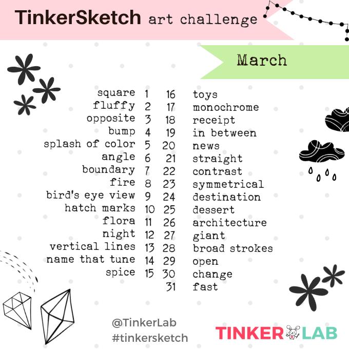March Art Challenge