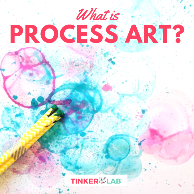 What is Process Art for kids?