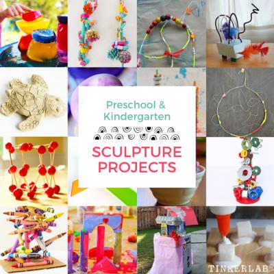 Sculpture Project Ideas for Preschool and Kindergarten Kids
