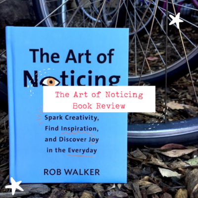 The Art of Noticing - Two Projects and a Book Review