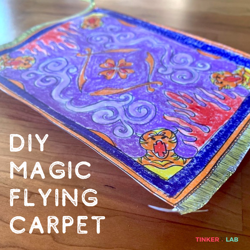 Make an Aladdin Magic Flying Carpet