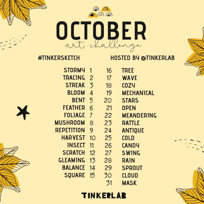 October Art Challenge