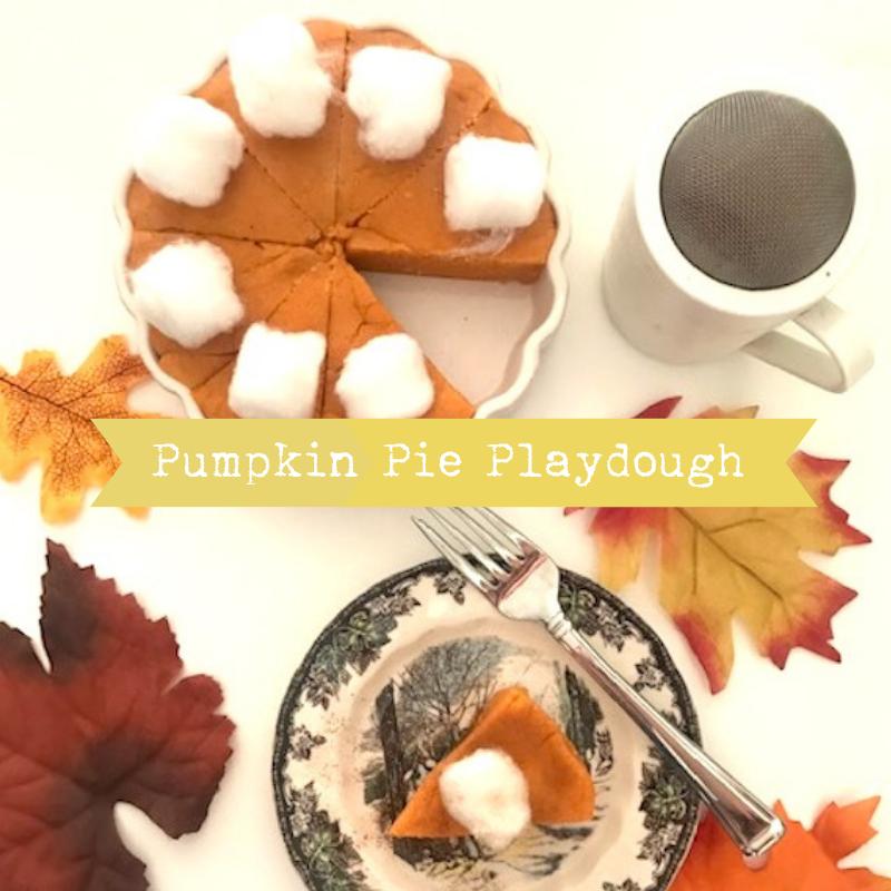 DIY Pumpkin Pie Playdough