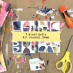 Mixed Media Art Journal Ideas [Card Download]