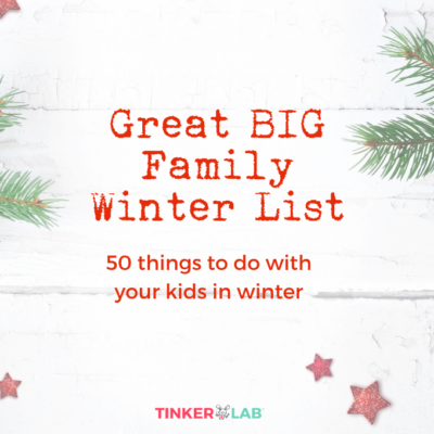 Winter Activities Checklist