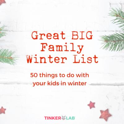 Winter Activities Checklist