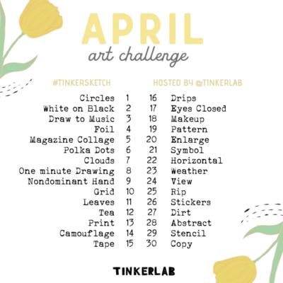 April Art Challenge