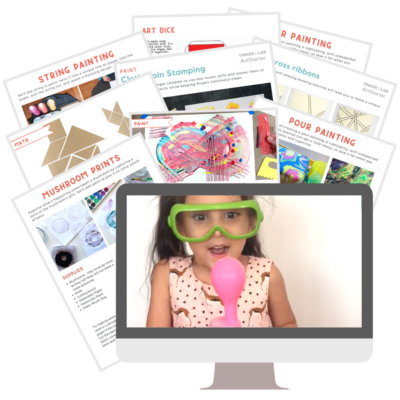 Join the Monthly TinkerLab Schoolhouse Subscription