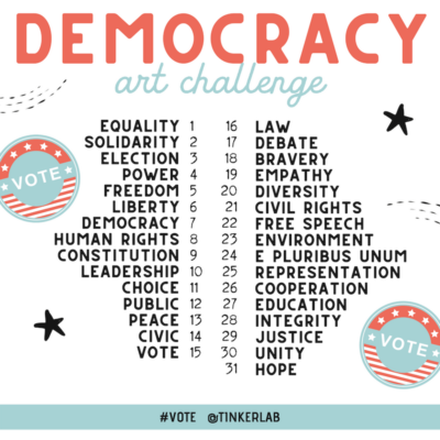 Democracy Art Challenge