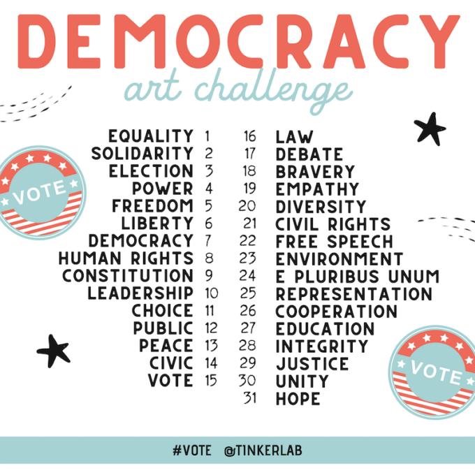 Democracy Art Challenge