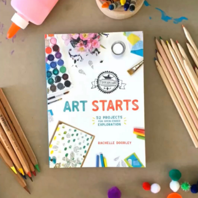 TinkerLab Art Starts Book